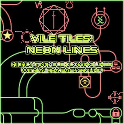Vile Tiles: Neon Lines