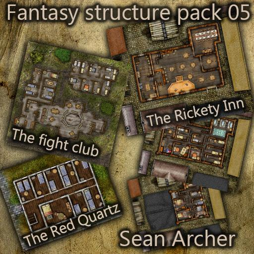 Fantasy Structures Pack 05