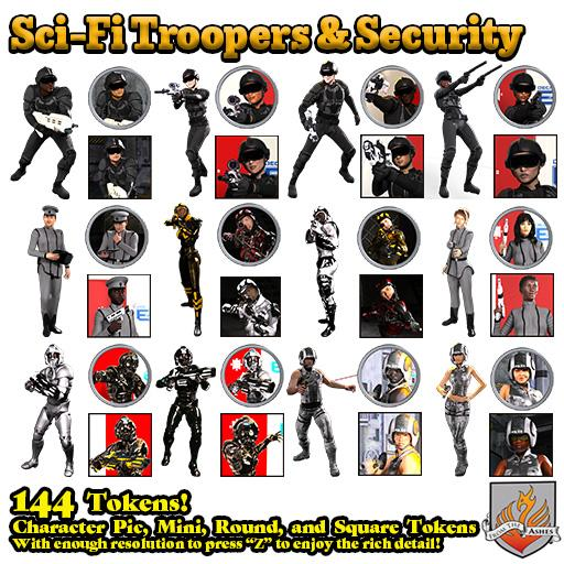 Sci-Fi Troopers & Security