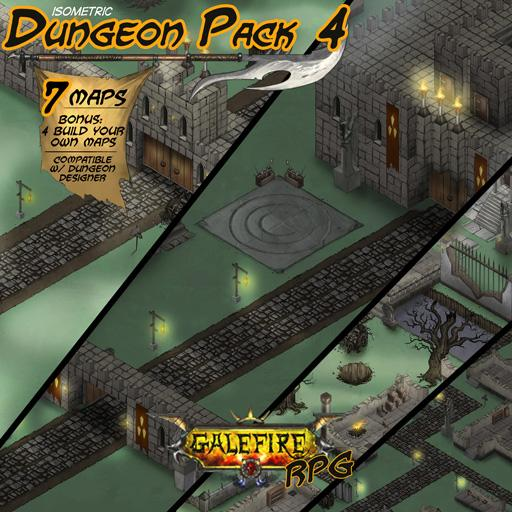 Isometric Dungeon Pack 4 - Citadel Ruins