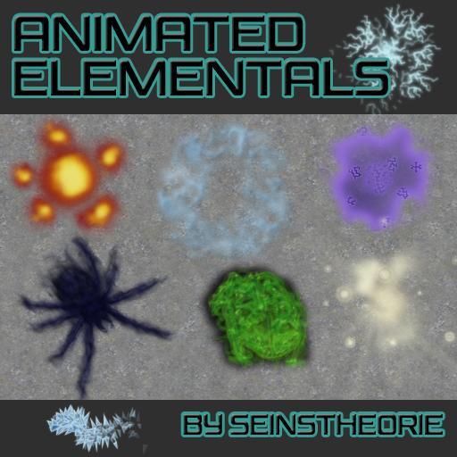 Animated Elementals
