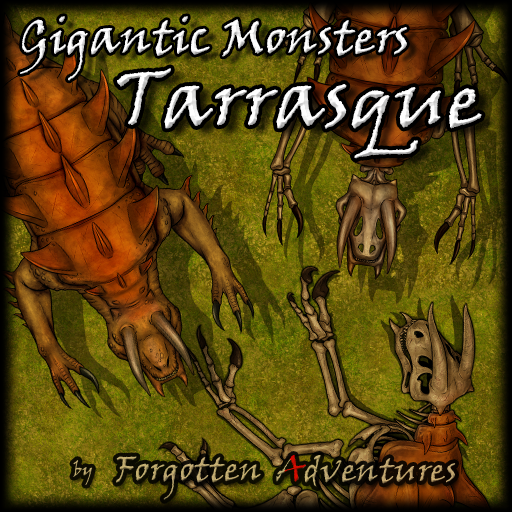 Gigantic Monsters - Tarrasque