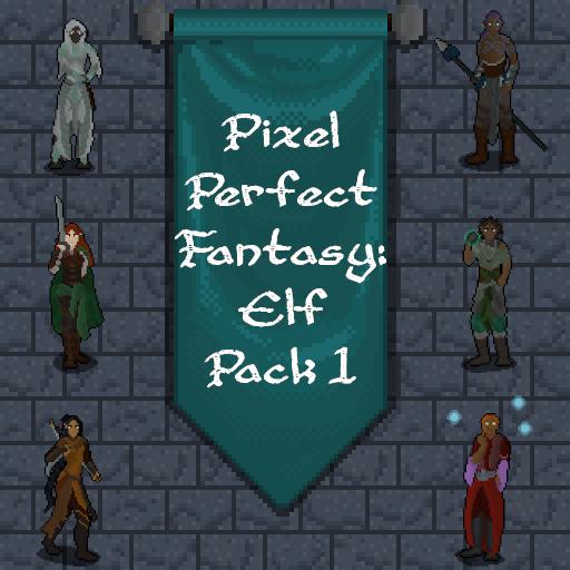 Pixel Perfect Fantasy: Elf Pack 1
