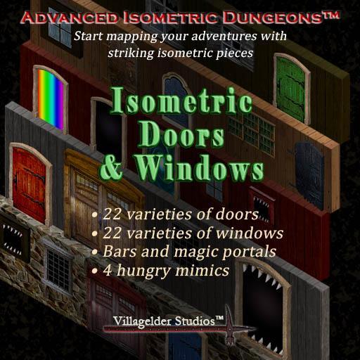Isometric Doors & Windows