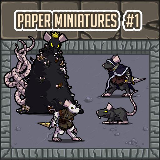 Paper Miniatures #01