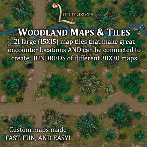Woodland Maps & Tiles