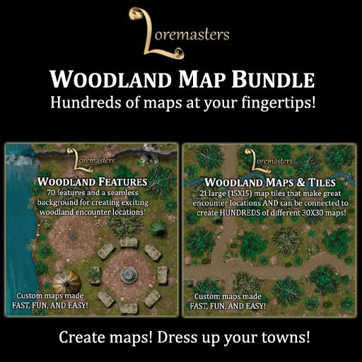 Woodland Map Bundle