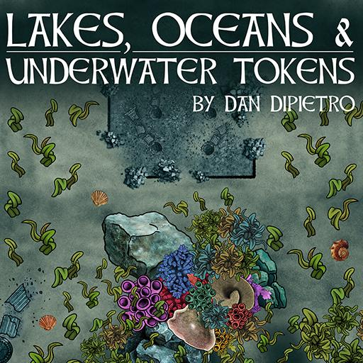 Lakes, Oceans, & Underwater Tokens