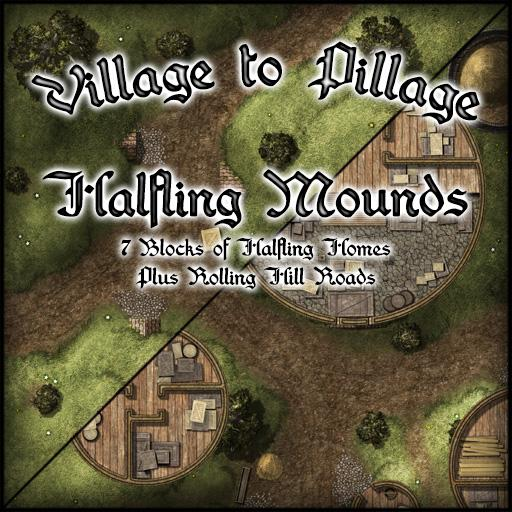 Village to Pillage Halfling Mounds
