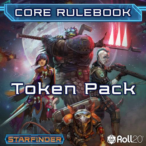 Starfinder Core Rulebook (Token Pack)