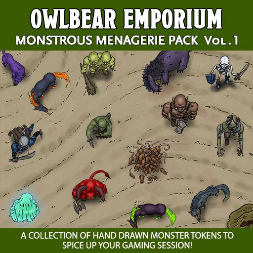 Monstrous Menagerie Pack Vol 1.