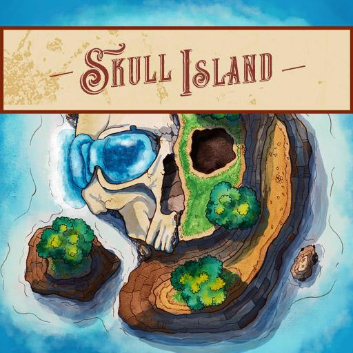 Skull Island (2 layers, 6 variations)