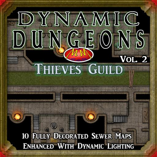 Dynamic Dungeons Vol 2 Thieves Guild