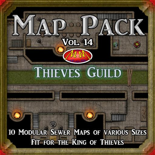 Map Pack 14 Thieves Guild