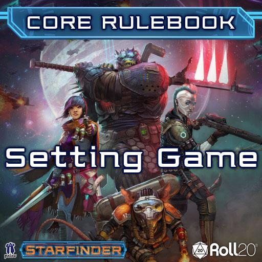 Starfinder Core Rulebook (Setting Game)