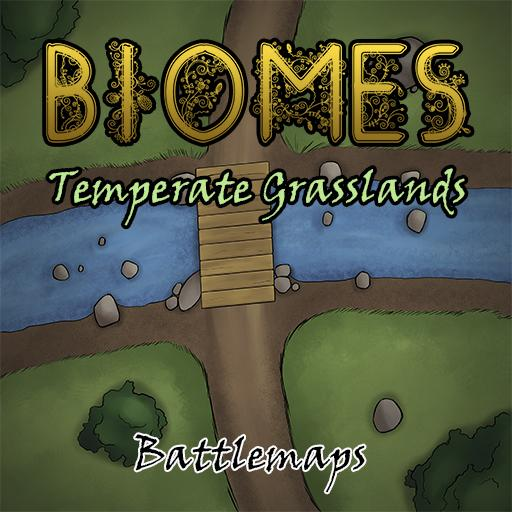 Biomes - Temperate Grasslands - Battlemaps