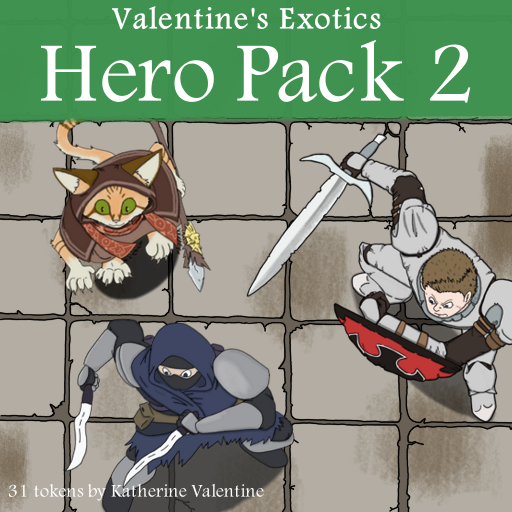 Exotic Hero Pack 2