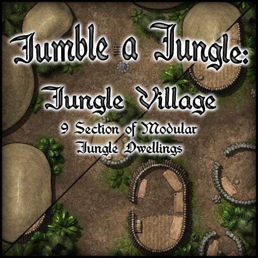 Jumble a Jungle: Jungle Village