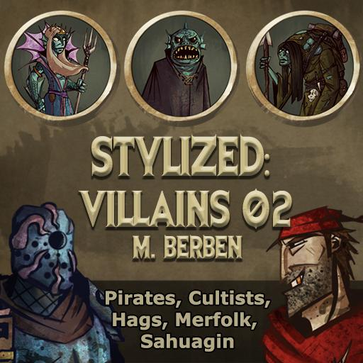 Stylized: Villains 02
