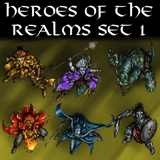 Heroes of the Realms Set 1