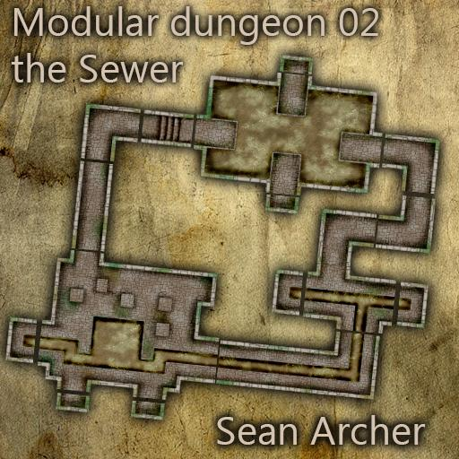 Modular Dungeon 02 The Sewer
