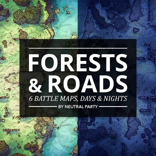 Forests and Roads Map Pack 2