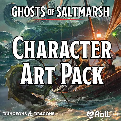 Ghosts of Saltmarsh (Character Art Pack)