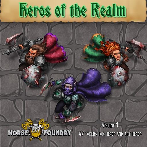 Heroes of the Realm Vol. 1