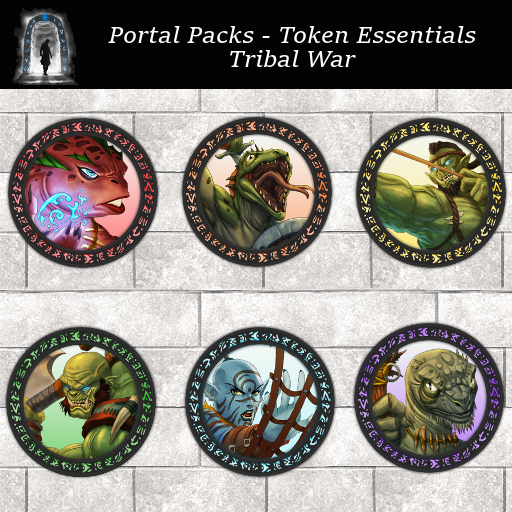 Portal Packs - Token Essentials - Tribal War