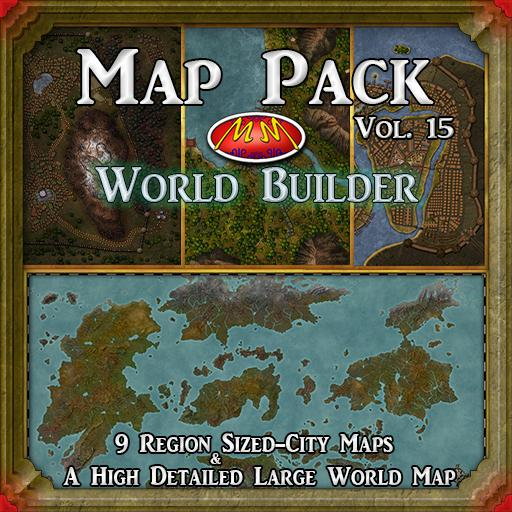 Map Pack Vol 15 World Builder