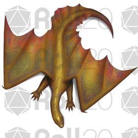 Gold dragon wyrmling token test 450 steroid