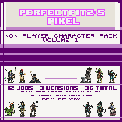 Pixel NPC Pack Vol 1