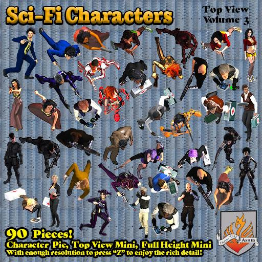 SciFi Characters Volume 3