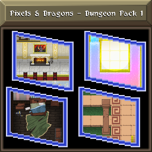 Pixels and Dragons - Dungeon Pack 1