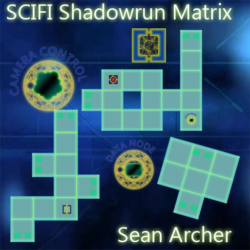 SCIFI Shadowrun Matrix Pack 1