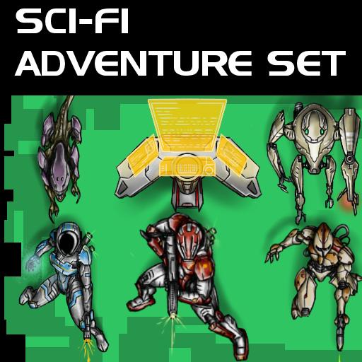 Sci-Fi Adventure Set