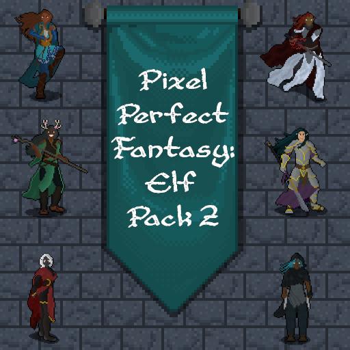 Pixel Perfect Fantasy: Elf Pack 2