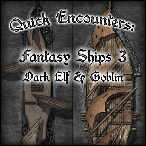 Quick Encounters: Fantasy Ships 3