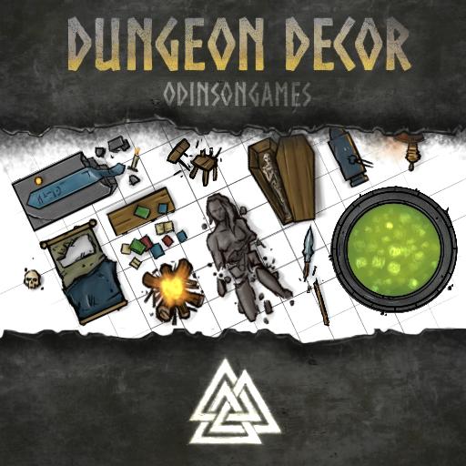 Odinson's Dungeon Decor