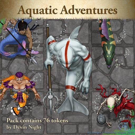 Pack 111: Aquatic Adventures