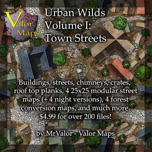 Urban Wilds Volume 1