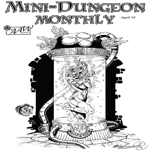 Mini-Dungeon Monthly #3