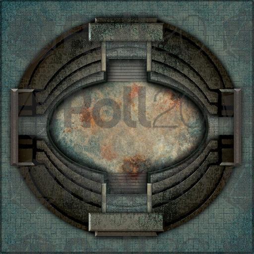 Gladiator Ring Pathfinder Map