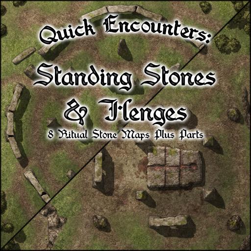 Quick Encounters: Standing Stones & Heges