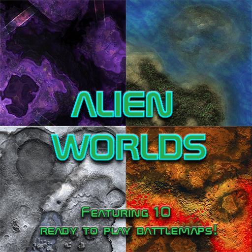 Alien Worlds Map Pack