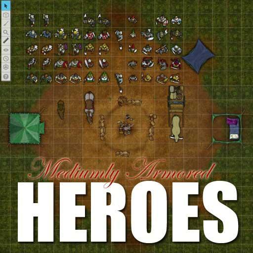 Mediumly Armored Heroes