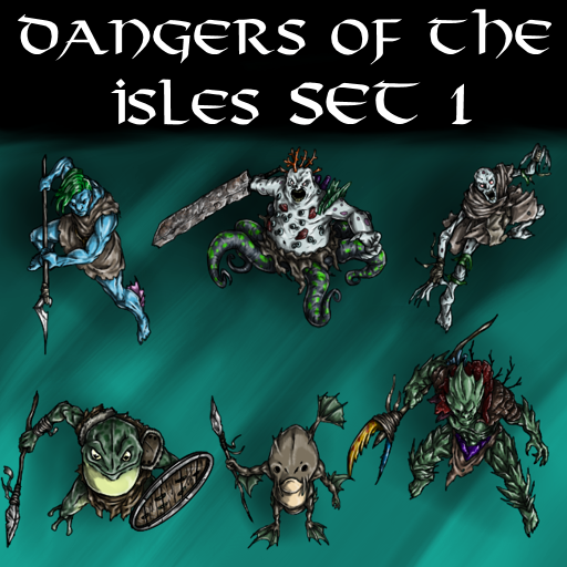 Dangers of the Isles Set 1