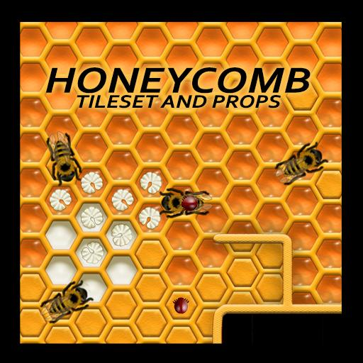 Honeycomb Tileset and Props