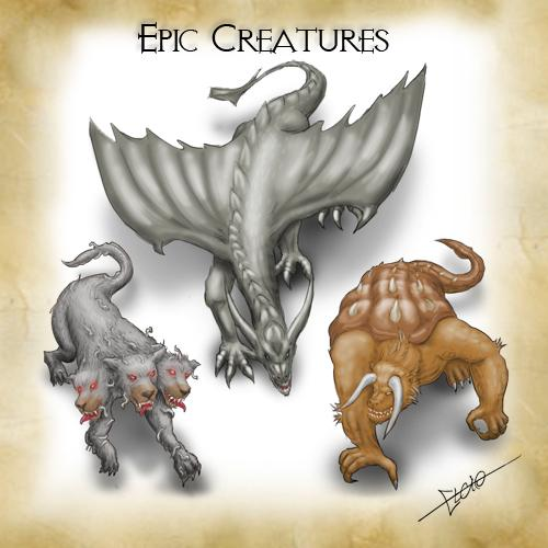 Epic Creatures Pack