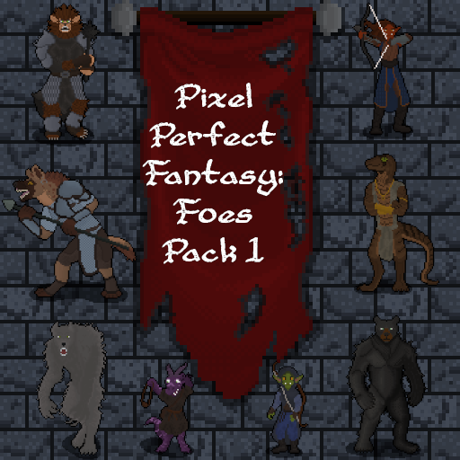 Pixel Perfect Fantasy: Foes Pack 1
